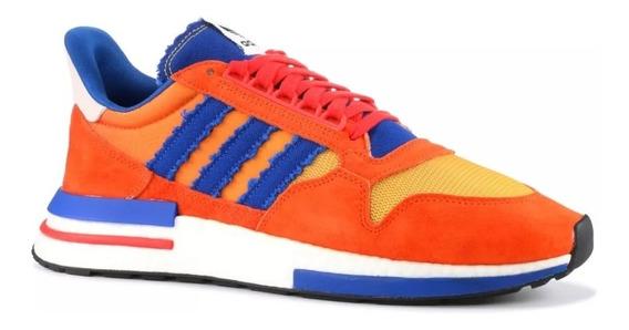 Zapatillas adidas Dbzx 500 Rm Boost Son Goku. Talla 41 (8us)