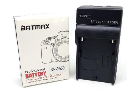 Bateria + Carregador Mod Sony Np-f550 P/ Iluminador