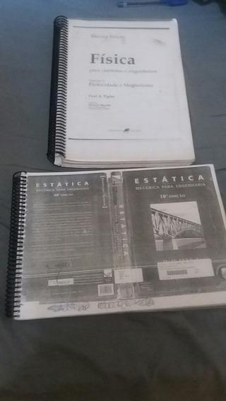 Livros ( Xerox ) Física Eletricidade E Magnetismo E Estática