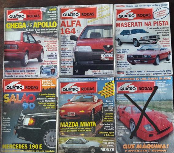 Revista 4 Rodas - Década 90