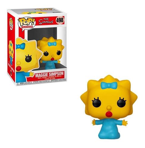 Muñeco Funko Pop Maggie Simpson 498 Los Simpsons Original