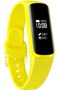 Smartband Samsung Galaxy Fit E, Monitor Cardíaco - Amarelo