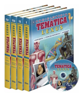 Enciclopedia Tematica Lexus 4 Tomos Multimaterias Y Ciencias