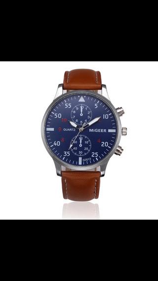 Relógio Migger De Pulso Quartzo, Fashion E Casual.
