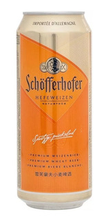 Caja X12 Cerveza Schofferhofer Lata 500ml