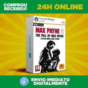 Max Payne 2 Pc + Envio Na Hora 24h Online