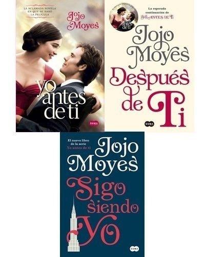 Pack Yo Antes De Ti (3 Libros) - Jojo Moyes