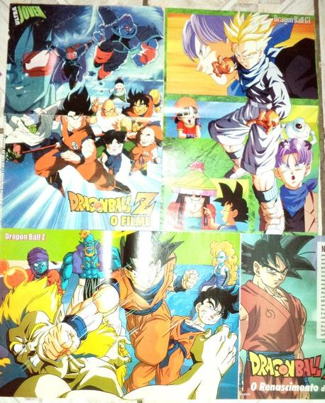 Lote Poster De Revista Ultra Jovem Dragon Ball O Filme