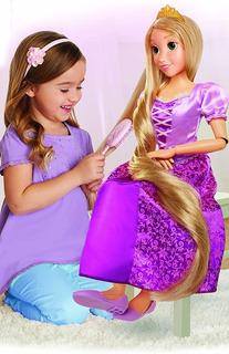 Muñeca Disney Rapunzel Articulada Tamaño Real 81 Cm