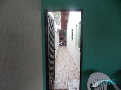Casa Térrea Mobiliada Lado Praia Com Piscina - 3 Suítes - Edícula - Casablanca - Peruíbe/sp - Ca00110 - 4571903