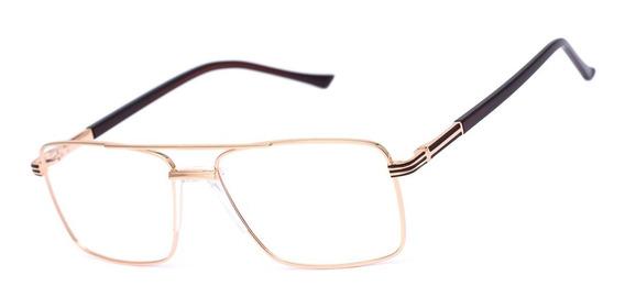 Armação Oculos Ogrife Og 622-c Masculino Com Lente Sem Grau