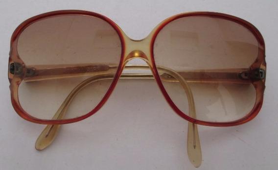 C0369 Óculos Calvi Em Acrílico, Com Lentes Degradée Com Gra