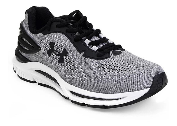 Tênis Under Armour Charged Spread - Masculino - Cinza/preto