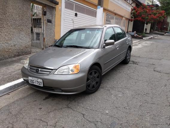 Honda Civic Automático 1.7 2001 Ótimo Estado