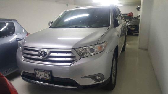 Toyota Highlander 5p Base Premium Sport Aut A/a Q/c Piel