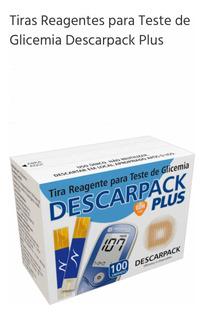 Tiras De Glicose - Descarpack Plus (100unidades/2frascos)
