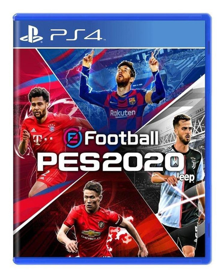Efootball Pro Evolution Soccer 2020 Ps4 Mídia Física