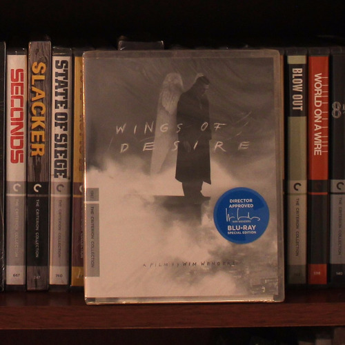 Criterion - Wings Of Desire (bluray) - Wim Wenders