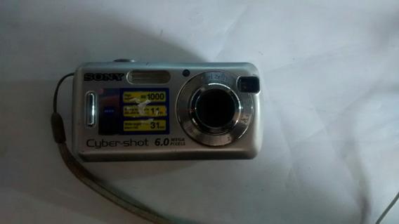 Sucata Câmera Sony Dsc-s600 Usada