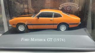 Miniatura Maverick Gt 1974 Carros Inesquecíveis Do Brasil