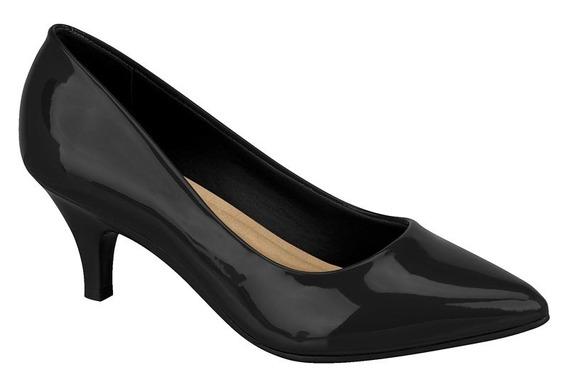 Sapato Feminino Scarpin Beira Rio 4076150 Salto Baixo