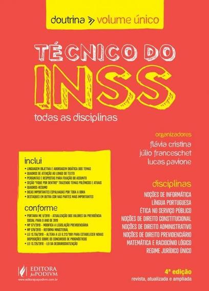 Tecnico Do Inss - Doutrina - Volume Unico - Juspodivm
