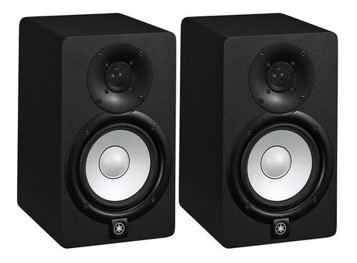 Monitor De Referência Ativo Par Yamaha Hs5 Preto 70w 110v