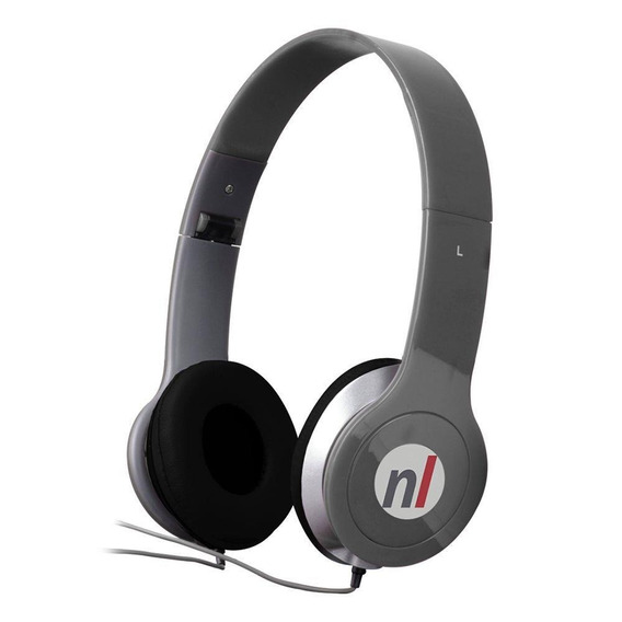 Fone De Ouvido Headphone Extreme Cinza Plug Estéreo Newlink