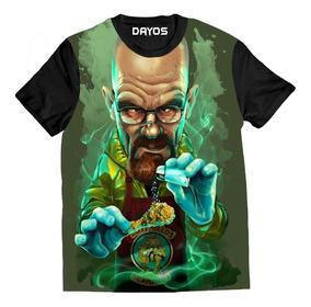 Camisa Camiseta Breaking Bad Heisenberg Los Pollos Total