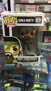 Funko Pop Call Of Duty Msgt. Frank Woods #69