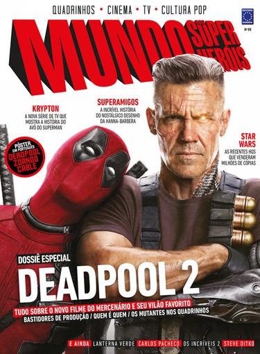 Revista Mundo Dos Super-heróis N° 99 Editora Europa Deadpool
