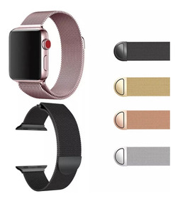 Pulseira Apple Watch 44-38mm Iwatch Milanese Loop Magnetica