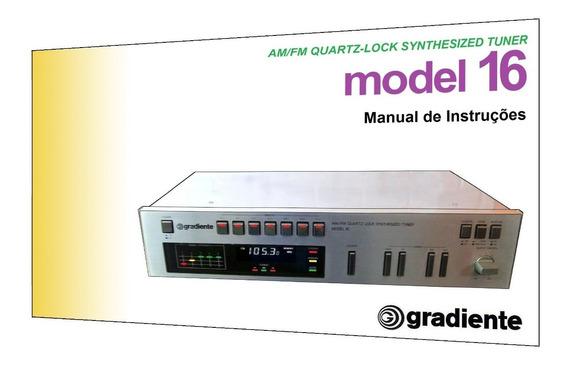 Manual Do Sintonizador Gradiente Model 16 (colorido)