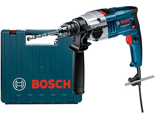 Imagen 1 de 8 de Taladro Percutor Bosch Gsb 20-2 Re 800w C/valija