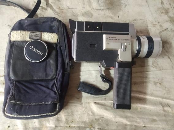 Câmera Filmadora Canon Super 8 Auto Zoom 814