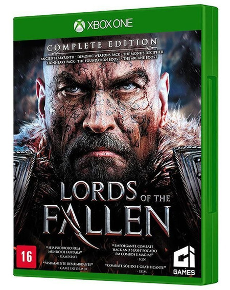 Lords Of The Fallen Complete Edition Xbox One - Frete Grátis