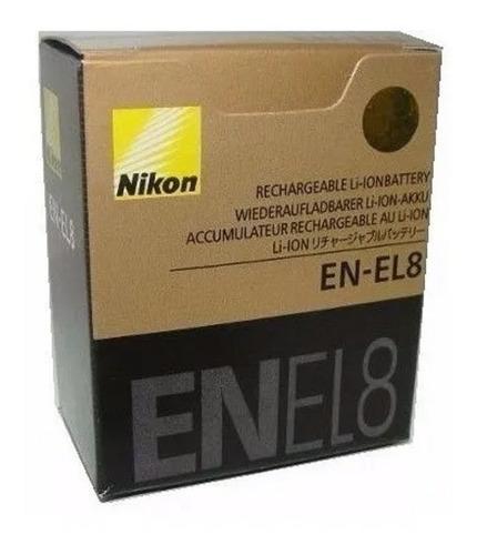 Bateria En-el8 Nikon Coolpix S51 S50 S52 P1 P2 L1 L2 Mh-62