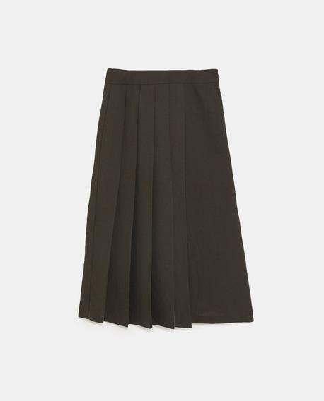 Pantalon Z.a.r.a. Culotte Tablas