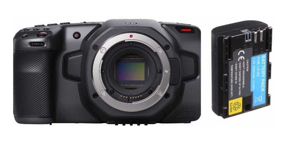 Blackmagic Pocket 6k Cinema + 2 Baterias Lp-e6- Retire Hj