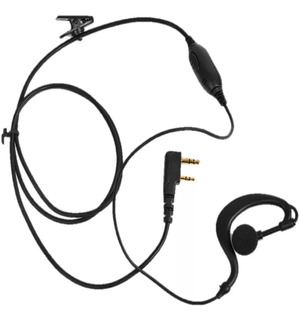 10 Fone De Ouvido Para Rádio Ht Baofeng 777s Uv-5r Kenwood