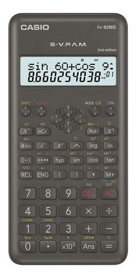 2 Calculadora Científica Casio Fx82ms 2nd Edition Original