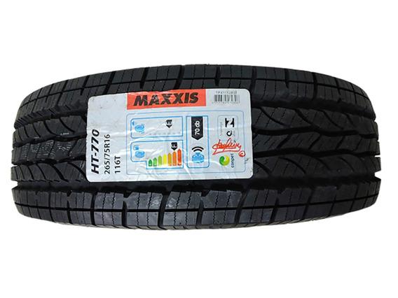Pneu 265/75r16 Maxxis Bravo Ht 770 116t Letras Brancas Novo