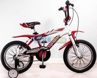 Bicicleta Raleigh Rodado 16 Alum Varon E Gratis Cuotas Sin I