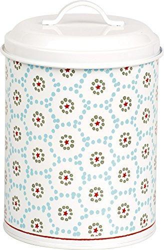 Celebra El Hogar Dal743349 Holiday Fillable Cookie Tin Blue