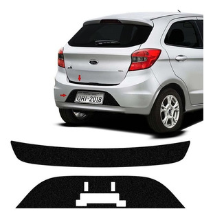 Kit Protetor Do Porta-malas Ka Hatch 17/18 + Fundo De Placa