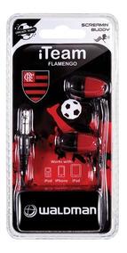 Fone De Ouvido Flamengo Super Fan Waldman