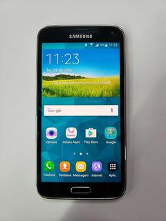 Celular Samsung Galaxy S5 16gb Preto Usado