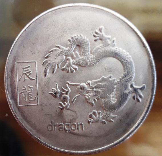 Onza Feng Shui Horóscopo Chino Símbolo Dragón - Con Cápsula