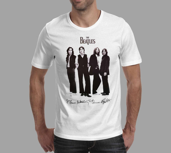 Camiseta The Beatles - Branca