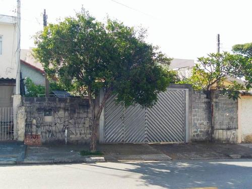 Imagem 1 de 2 de Terreno À Venda, 250 M² Por R$ 490.000,00 - Vila Camilópolis - Santo André/sp - Te0185